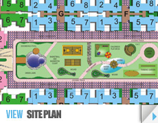 Vasu Fortune Residency Site Plan